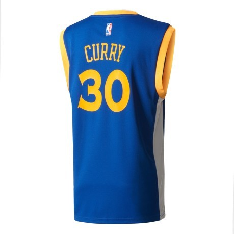Canotta Uomo Golden State Warriors blu giallo