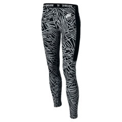 Leggings Ragazza Leg-A-See Printed grigio nero