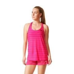Canotta Donna Lightweight Tan rosa modella