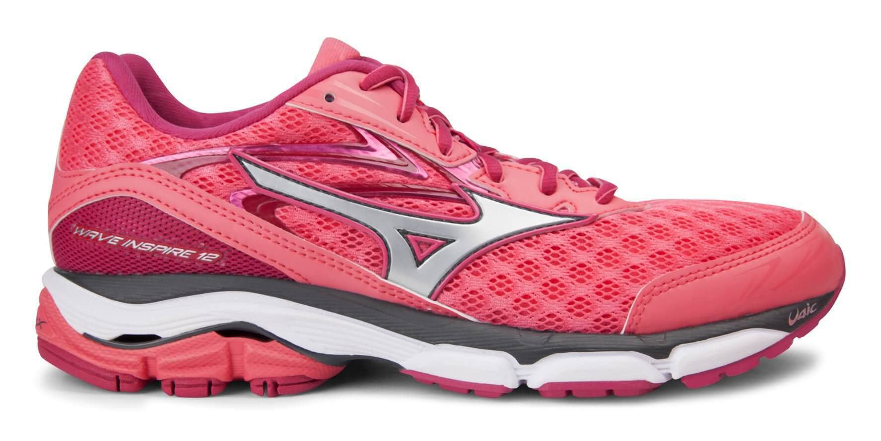 Scarpe Running Donna Wave Inspire 12 colore Rosa Mizuno