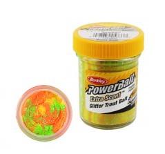 Pasta Powerbait Glitter Trout Bait giallo variante