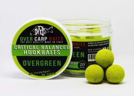 HookBaits Overgreen 20 mm verde confezione