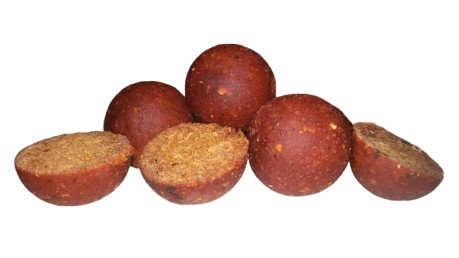 Boilies Red Hot Chili Spices 16 mm 750 g confezione