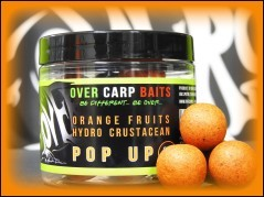 Boilies Pop-Up orange fruit 16 mm