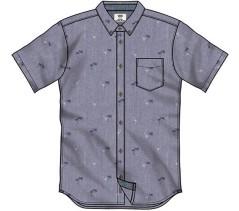 Camicia uomo Houser grigio-fantasia