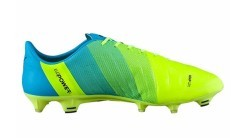 Mens Football boots Evo Power 1.3 FG yellow blue right