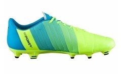 Football boots Evo Power 3.3 Fg yellow blue right