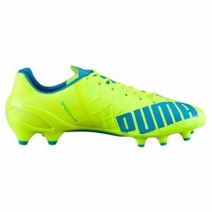 Football boots Evo Speed 1.4 Fg yellow blue