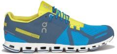 Scarpa uomo Cloud A2 leggera blu giallo