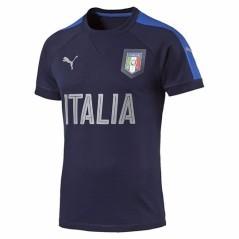 T-shirt Uomo Casual Italia blu