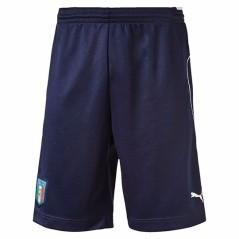 Pantaloncino Uomo Italia Europei 2016 blu bianco