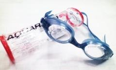 Occhialini piscina Snap blu