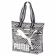 Women's bag Arcaide Large white black