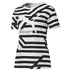 T-shirt Donna Aop Rihanna bianco fantasia