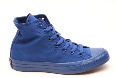 Scarpe Hi Canvas Monocromatiche blu