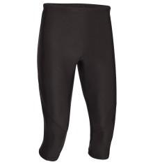 Pantaloni Uomo 3/4 Running nero