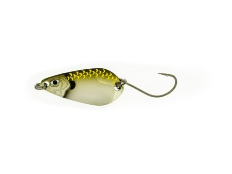 Artificiale Trout Spoon 1,5 g rosso giallo