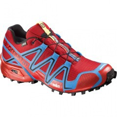 Scarpe uomo Speedcross  3 GT Gore A5 rosso azzurro
