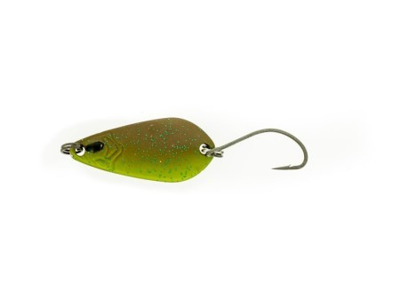 Artificiale Trout Spoon 5 g rosso giallo