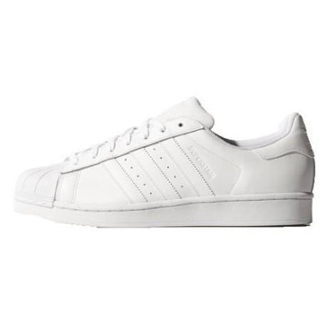 pretty nice 07cf1 dd3ea Shoes Superstar Foundation white blue