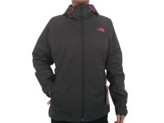 Jacket Woman Sequence-grey pink