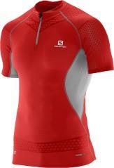 T-shirt uomo S-LAB EXO rosso fronte
