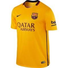Maglia Ufficiale Away Barcellona giallo