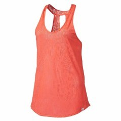 Canotta Donna Mesh It Up Tank arancio