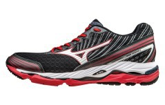 Scarpa Running Uomo Wave Paradox 2 Stabile A4 nero rosso