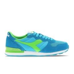 scarpa uomo Camaro lato sinistro azzurro verde