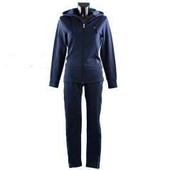 Tuta Donna Fashion Full Zip blu
