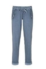 Pantalone Donna Jersey Maltinto blu variante 1