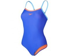 Costume donna Thinstrap Muscleback blu variante 1
