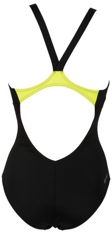 Costume  Donna Ipanema One Piece nero giallo