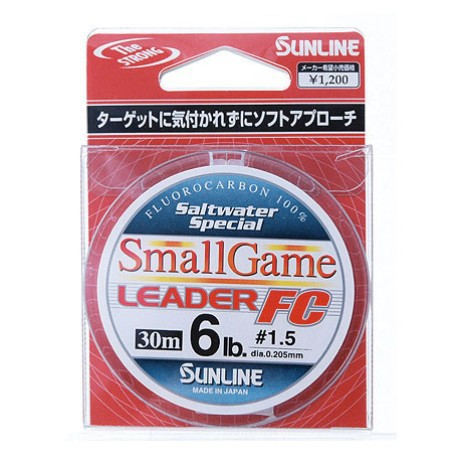 Sunline FC Small Game Leader (6lb)