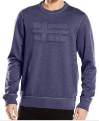 Pullover uomo Bulwark blu fronte