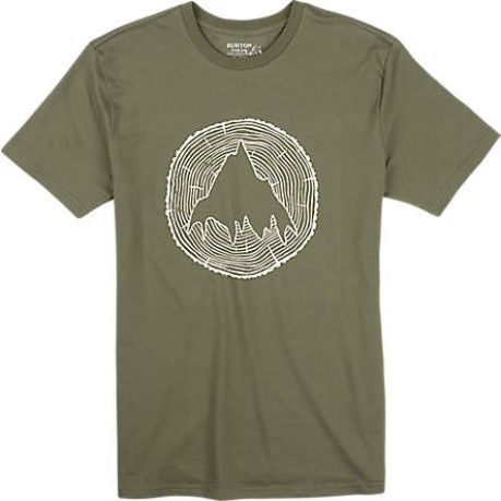 T-shirt uomo Johnson verde