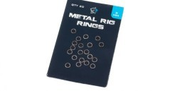 Metal Rig Rings 3 mm nero