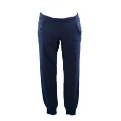 Pantalone Felpa Donna Delavè blu
