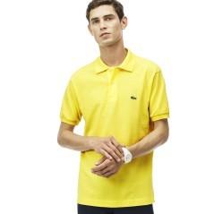Polo uomo Piquet gialla