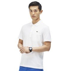Polo uomo Men's Stretch fronte blu- variante