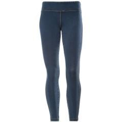Leggins Donna Denim Jeans blu