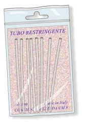 Tubo restringente nero 6,4 mm