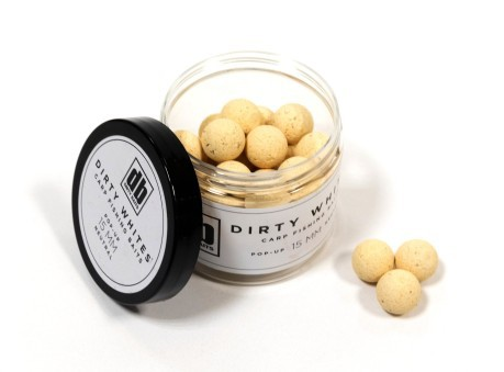 Boilies Pop-Up Dirty Whites 15 mm