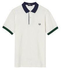 Men Polo Special Edition white blue