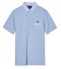 Polo Uomo Special Edition Con Taschino bianco