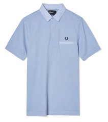 Men Polo Special Edition With the Pocket, white