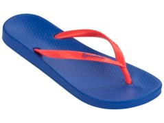 Flip flops Women's Tan blue-blue