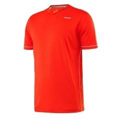 T-Shirt Uomo Vision V-Neck arancio
