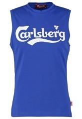T-Shirt Smanicata Uomo blu